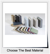 Bathroom Partition Materials