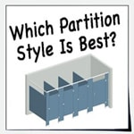 Four types of partition bracing styles are offered.