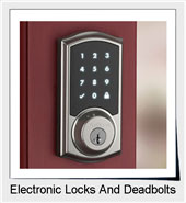 Electronic Door Locks And Deadbolts