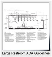 ADA Guidelines For Large Public Restrooms