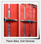 Panic Bars, Exit Devices