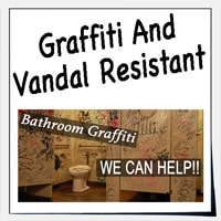 graffiti and scratch resistant