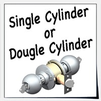 Single Cylinder Or Double Cylinder