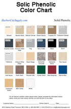 Solid Phenolic Color Chart Thumbnail