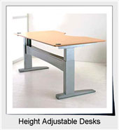 Shop Height Adjustable Desks