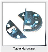 Shop Table Hardware