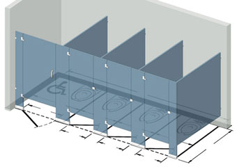 Measuring your space is part of the partition purchase process.